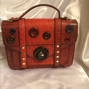 Red Purse with handle